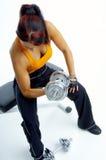 Exercice de femme Image libre de droits