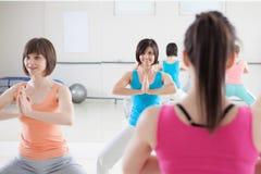 Exercice de femmes Image libre de droits