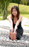 Exercice de femmes Photographie stock