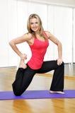 Exercice de fille Image stock