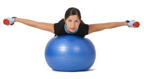 Exercice de fille Photo libre de droits