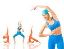 Exercice de forme physique Image libre de droits