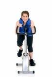 Exercice de forme physique, de l'adolescence attrayant Images stock