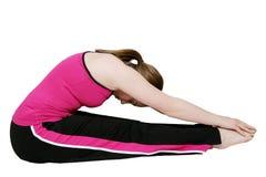 Exercice de la pose de femelle Image stock