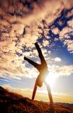 Exercice de matin Image libre de droits