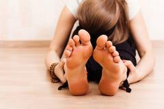Exercice de relaxation Photo libre de droits