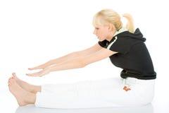 Exercice de yoga Photos libres de droits