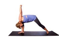 Exercice de yoga pour la santé mentale photographie stock