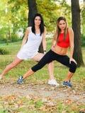 Exercice dehors Photo libre de droits