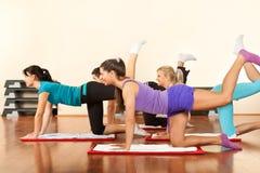 Exercice des jeunes Photo stock