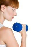 Exercice du femme Photo stock