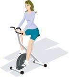 Exercice en gymnastique Image stock