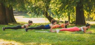 Exercice en nature photos stock