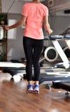 Exercice för hopprep Royaltyfria Foton