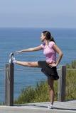 exercice kobieta Fotografia Royalty Free