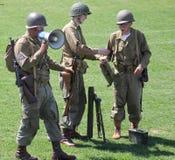Exercice militaire Photo libre de droits