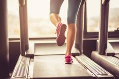 Exercice pour des jambes Image libre de droits
