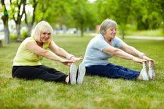 Exercice pour le biceps Photo libre de droits