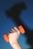 Exercice projeté photographie stock