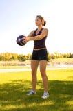 Exercices d'épaule Photos stock
