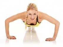 Exercices d'aérobic Photographie stock