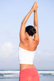 Exercices da manhã Imagem de Stock Royalty Free