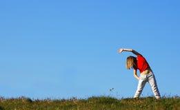 Exercices de forme physique Image libre de droits