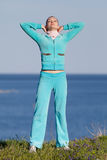 Exercices de matin Images stock
