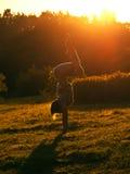 Exercices de matin Photos stock