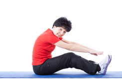 Exercices diários Fotografia de Stock