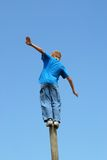 Exercicio de equilibrio! fotos de stock royalty free