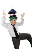Exercicio de equilibrio Foto de Stock Royalty Free
