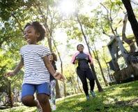 Exercise Activity Family Outdoors Vitality Healthy Royalty Free Stock Photos