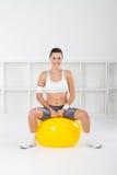 Exercise ball Stock Photos