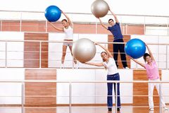 Exercise Ball Royalty Free Stock Image