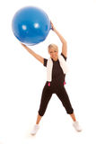 Exercise Ball Stock Image
