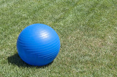 Exercise ball Stock Photography