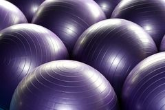 Exercise balls Royalty Free Stock Photo