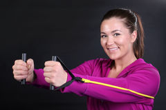 Exercise Bands Stock Photography