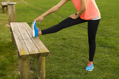 After exercise Royalty Free Stock Image