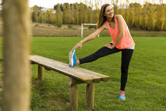After exercise Royalty Free Stock Photo