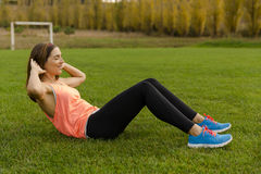 After exercise Royalty Free Stock Photos