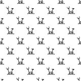 Exercise bicycle pattern, simple style. Exercise bicycle pattern. Simple illustration of exercise bicycle vector pattern for web Stock Image
