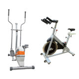 Exercise bicycle Royalty Free Stock Photos