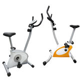 Exercise bicycle Royalty Free Stock Image