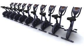 Exercise bike Royalty Free Stock Image