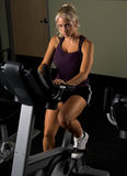 Exercise Bike Stock Photo