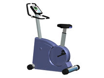 Exercise bike Royalty Free Stock Photos