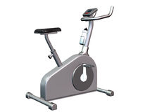 Exercise bike Royalty Free Stock Images