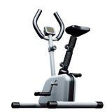 Exercise bike grey Stock Images